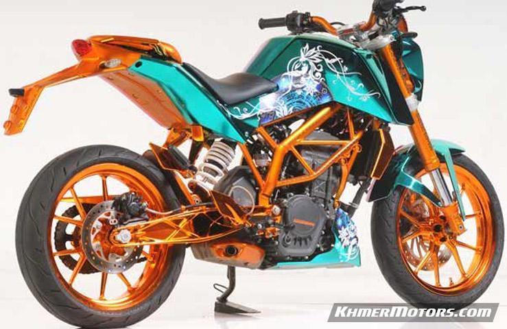 Ktm Duke 200 Modified Khmermotors Blog