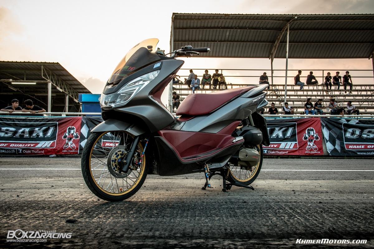 Honda all new pcx 150 5 khmer motors for 2017 honda pcx 150