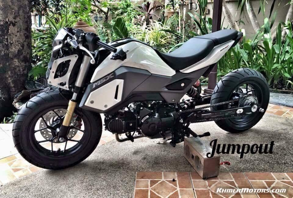 custom-honda-grom-msx-125-lowered-motorcycle-msx125sf-mini ...
